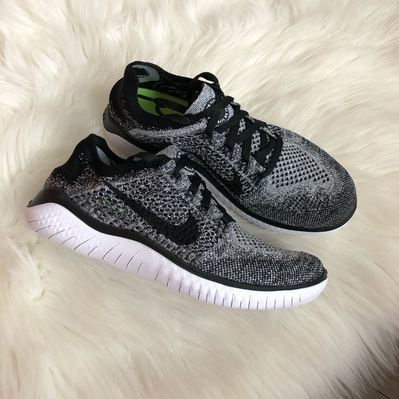 8be0e90f0f878 Brand New Nike Free Run Flyknit 2018 Oreo